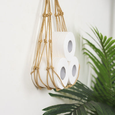 Nordic Rope Toilet Paper Holder
