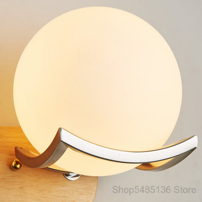 Giant Pearl Wall Lamp