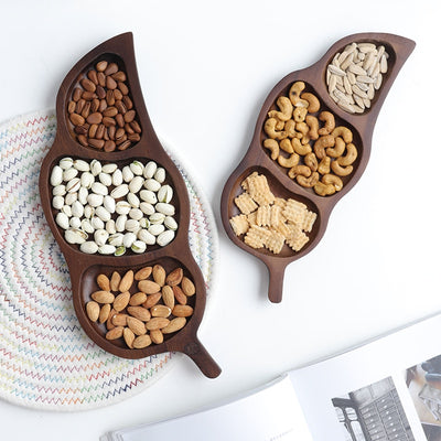 Nordic Wooden Snack Plate