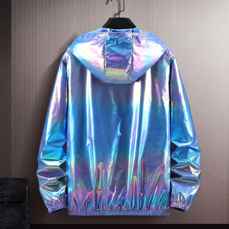 One Pearlescent Jacket