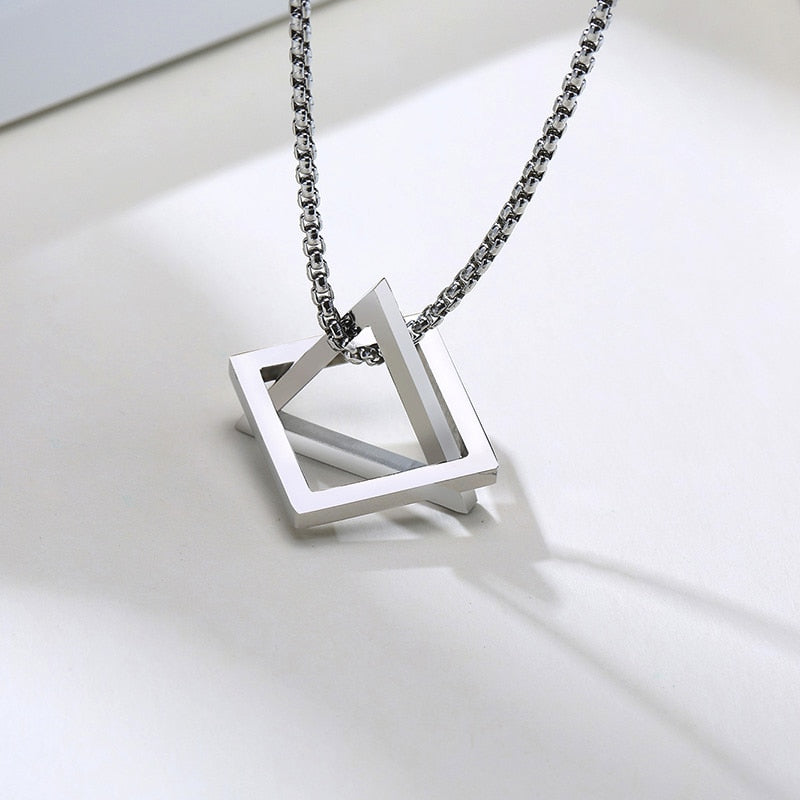 Stainless Steel Fusion Necklace