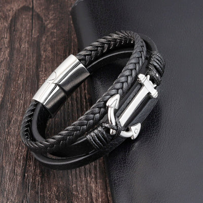 Stainless Steel Anchor Bracelet