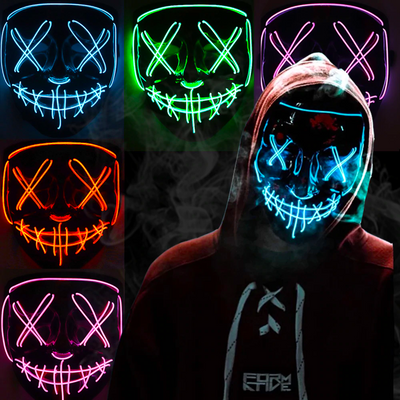 Night Wraith LED Mask