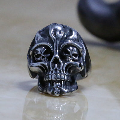 Apocalyptic Skull Ring