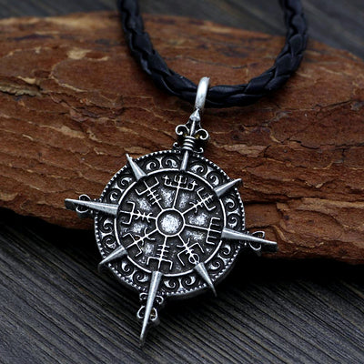 Viking Compass Necklace