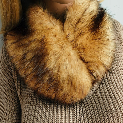 Alaska Luxury Fur Scarf
