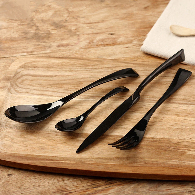 Black Pearl Flatware Set