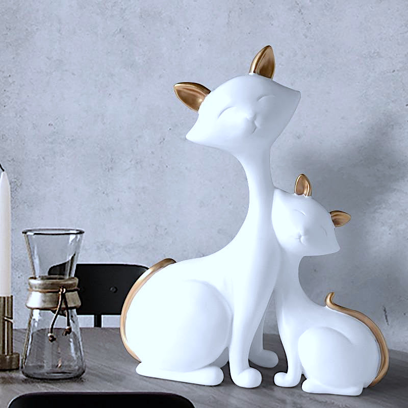 Decorative Cats Figurine