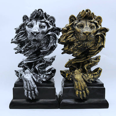 Decorative Lion Statue
