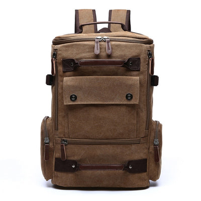 Vintage Canvas Travel Backpack