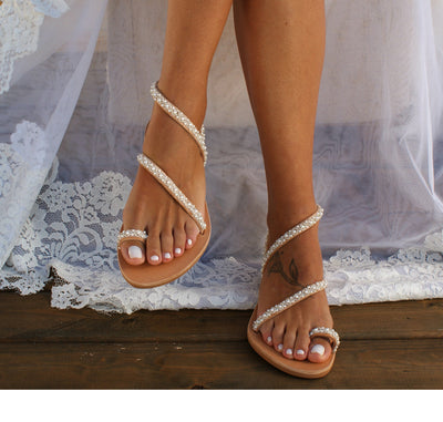 Layla Pearl Sandals
