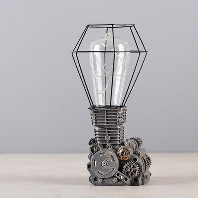 Industrial Engine Table Lamp