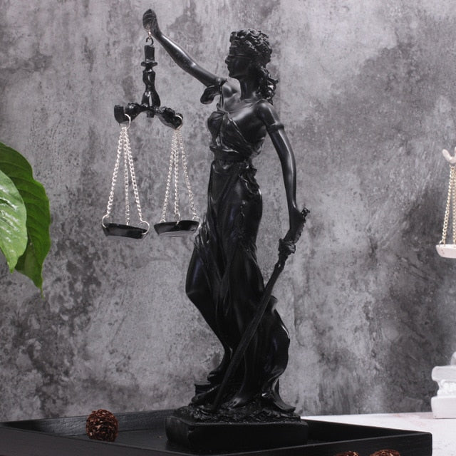 Goddess Of Justice Figurine