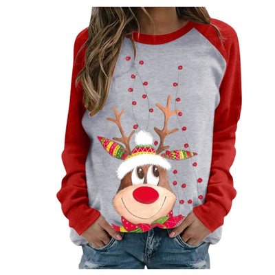 Happy Christmas Reindeer Sweater