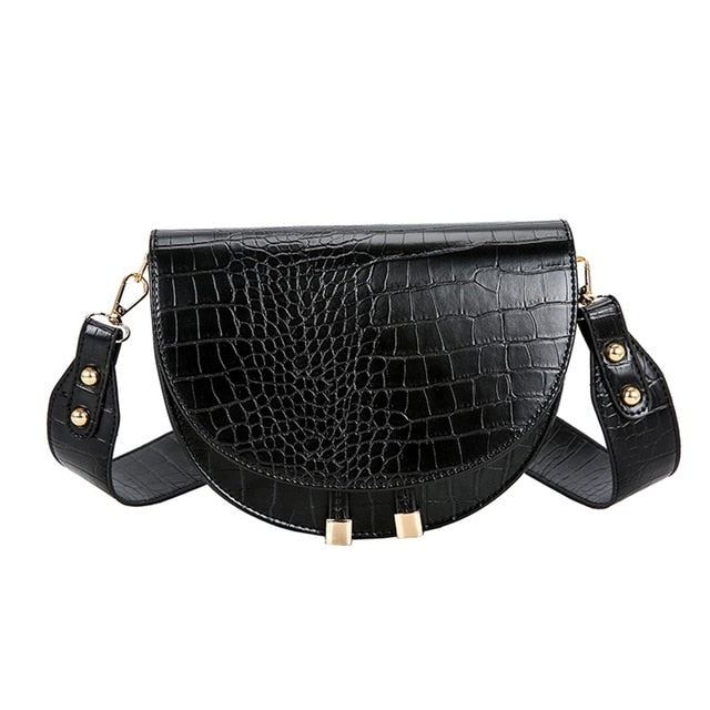 Rowan Alligator Crossbody Bag