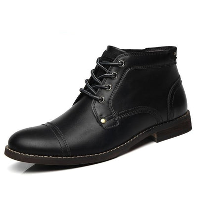Axel Leather Ankle Boots