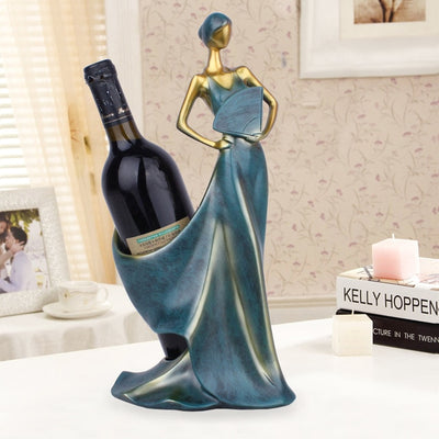 Flamenco Dancer Wine Holder