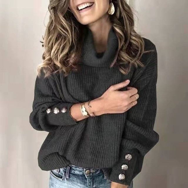 Olivia Turtleneck Sweater