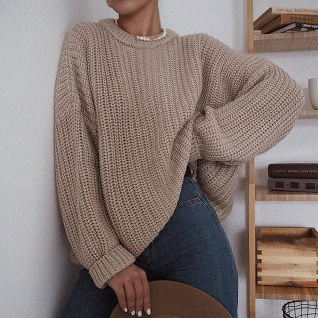 Amelia Oversized Knit Sweater