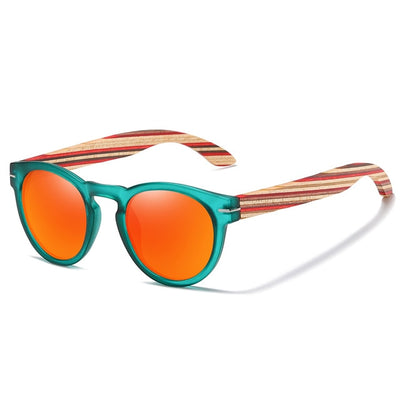 Iris Polarized Wooden Sunglasses