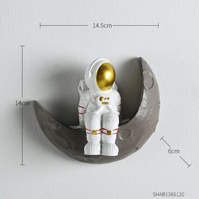 Nordic Astronaut Wall Decor