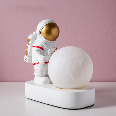 Astronaut Moon Lamp