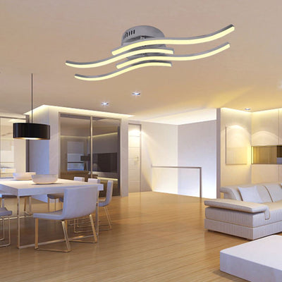 Fusion Wave LED Ceiling Light