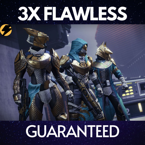 Trials of Osiris 3x Flawless Runs