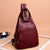 Multifunctional Large Capacity New Fashion Leather Backpack-Obangbag