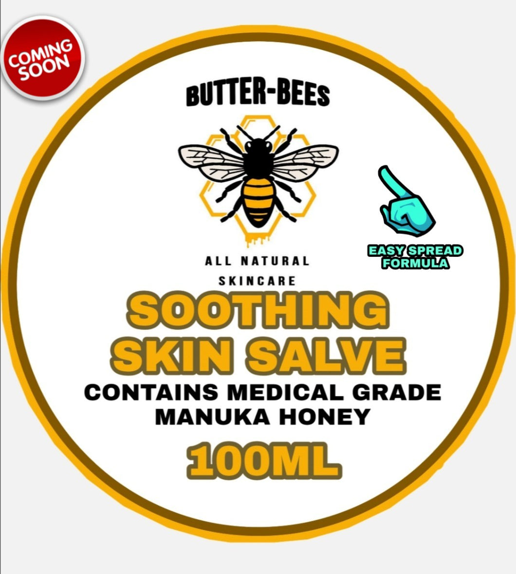 BUTTER BEES 'EASY SPREAD' SOOTHING SKIN SALVE 100ML