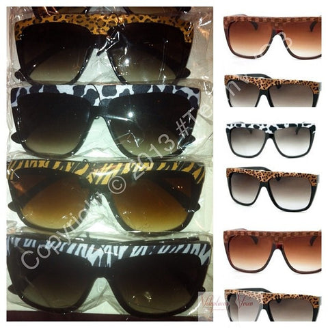 Animal Print Sunglasses