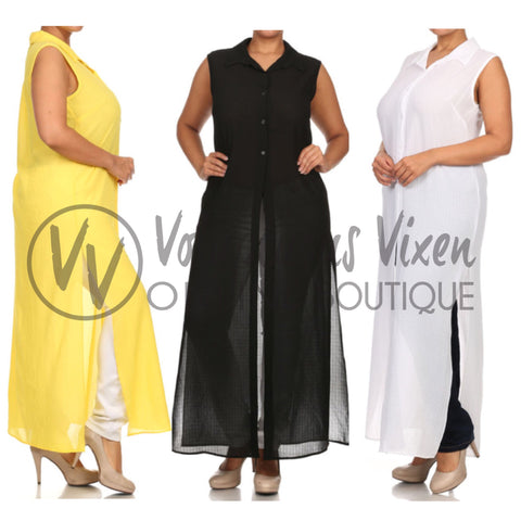 Mia Maxi Top(More Colors)