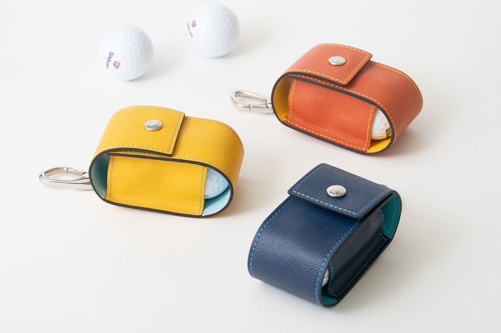 New golf leather pouches