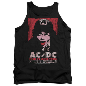 AC/DC High Voltage Live 1975 Mens Tank Top Shirt Black