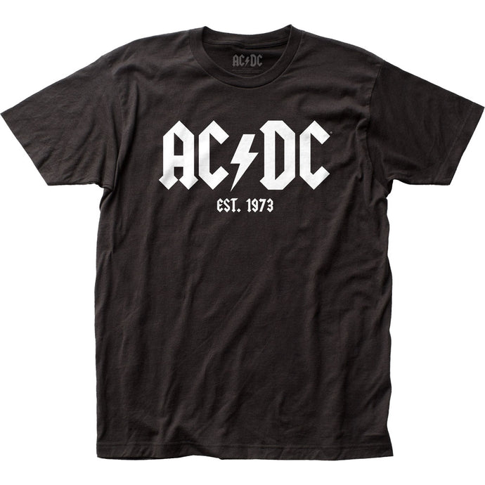 AC/DC Est. 1973 Mens T Shirt Black