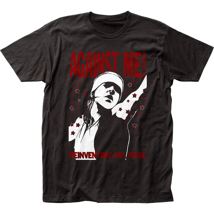 Against Me! Reinventing Axl Rose Mens T Shirt Black
