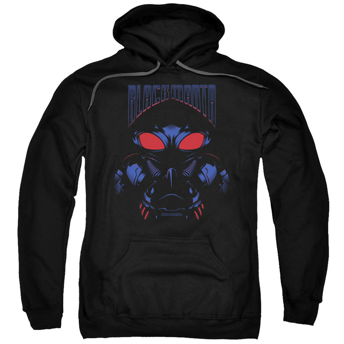 Aquaman Movie Black Manta Mens Hoodie Black