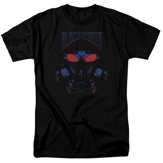 Aquaman Movie Black Manta Mens T Shirt Black