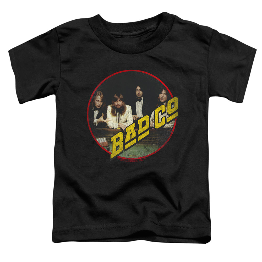 Bad Company Bad Co Toddler Kids Youth T Shirt Black