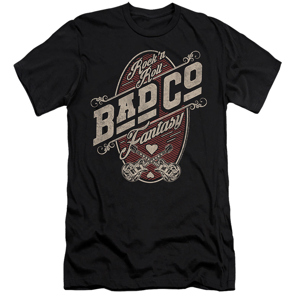 Bad Company Fantasy Slim Fit Mens T Shirt Black