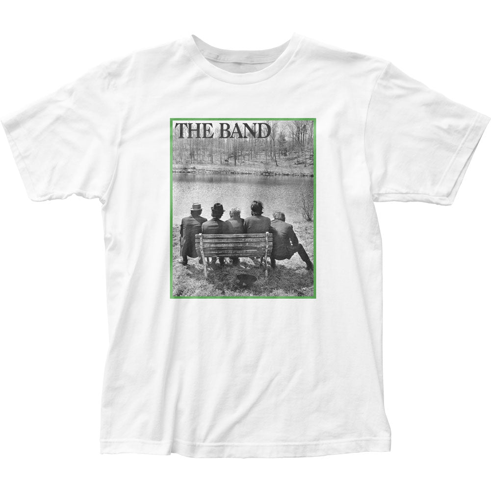 The Band Bench Mens T Shirt White