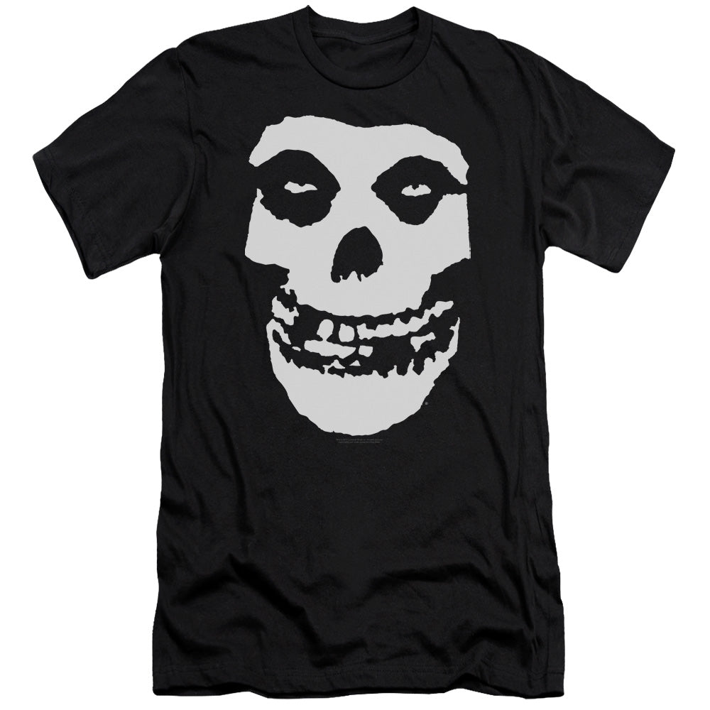 Misfits Fiend Skull Slim Fit Mens T Shirt Black