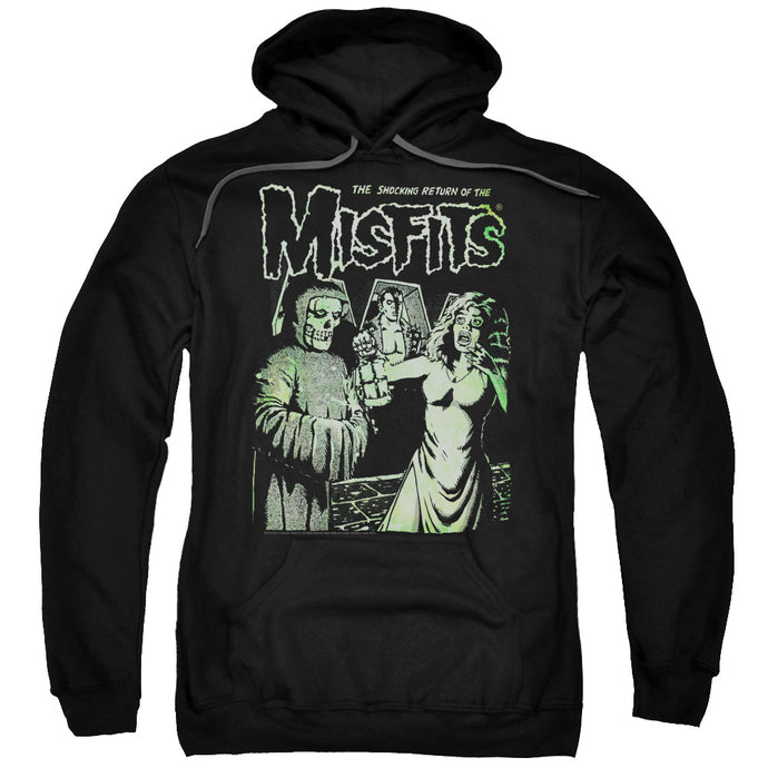 Misfits The Return Mens Hoodie Black