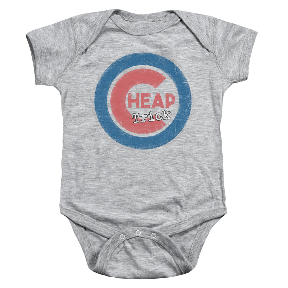 Cheap Trick Cheap Cub Infant Baby Snapsuit Athletic Heather