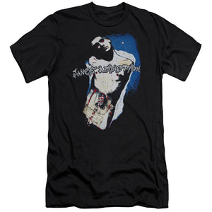 Janes Addiction Perry Premium Bella Canvas Slim Fit Mens T Shirt Black