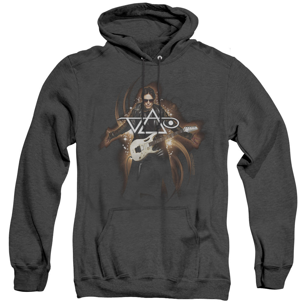Steve Vai Vai Guitar Heather Mens Hoodie Black
