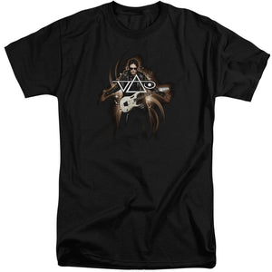 Steve Vai Vai Guitar Mens Tall T Shirt Black