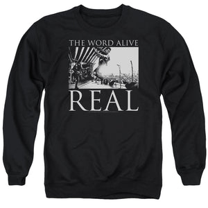 The Word Alive Live Shot Mens Crewneck Sweatshirt Black