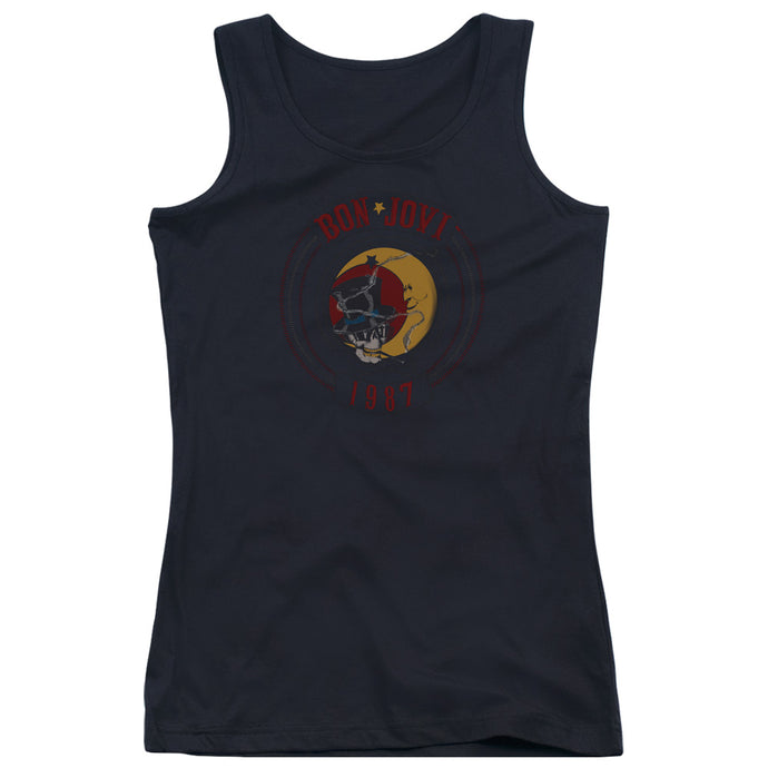 Bon Jovi 1987 Womens Tank Top Shirt Black