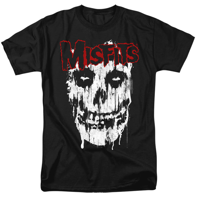 Misfits Splatter Mens T Shirt Black